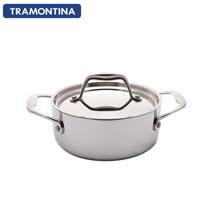 TRAMONTINA Gourmet TRIX 系列20公分雙耳湯鍋3.5L