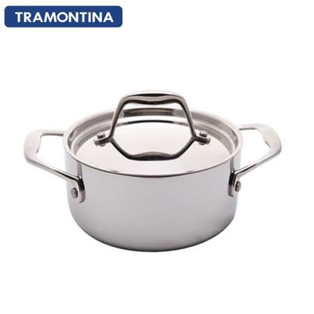 TRAMONTINA Gourmet TRIX 系列24公分雙耳大湯鍋5.9L