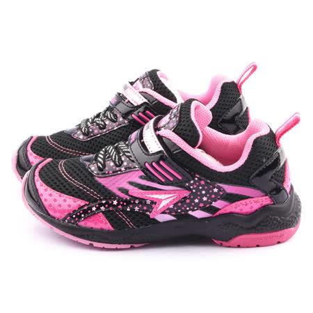 Achilles瞬足 大童 輕量機能運動鞋ELEJ2271-黑