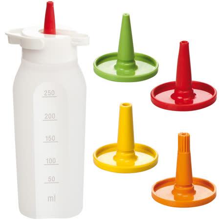 《TESCOMA》Presto 4in1醬料擠壓瓶(250ml)