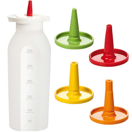 《TESCOMA》Presto 4in1醬料擠壓瓶(500ml)