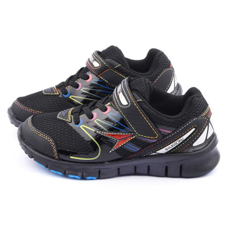 Achilles瞬足 大童 輕量機能運動鞋ESJJ0831-黑
