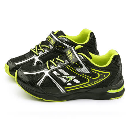 Achilles瞬足 大童 輕量機能運動鞋ESJJ0110-黑