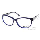 agnes b.光學眼鏡 低調復古款(深藍) #ABP233 W08