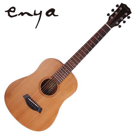 ★集樂城樂器★嚴選Enya EB-02 雲杉單板沙比利木旅行吉他!! 限量下殺