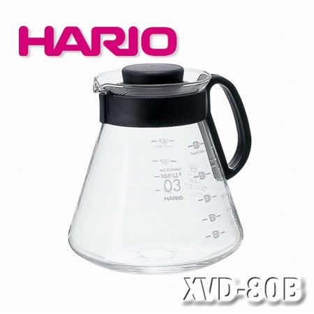【HARIO】V60經典80咖啡壺800ml / XVD-80B