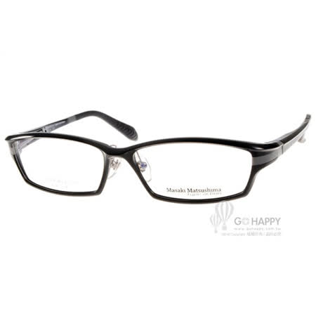 Masaki Matsushima眼鏡 簡約休閒款(黑) #MFS109 C04
