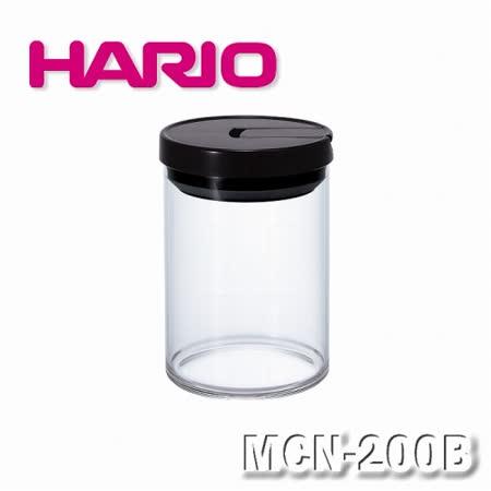 【HARIO】日本咖啡保鮮罐M黑色-MCN200B
