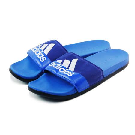 (男)ADIDAS ADILETTE SUPERCLOUD PLUS M 拖鞋 藍/黑/白-B24192