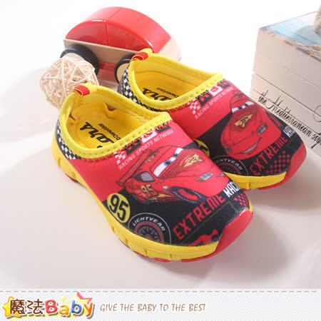 魔法Baby~迪士尼閃電麥坤超輕量男童鞋 sh8145