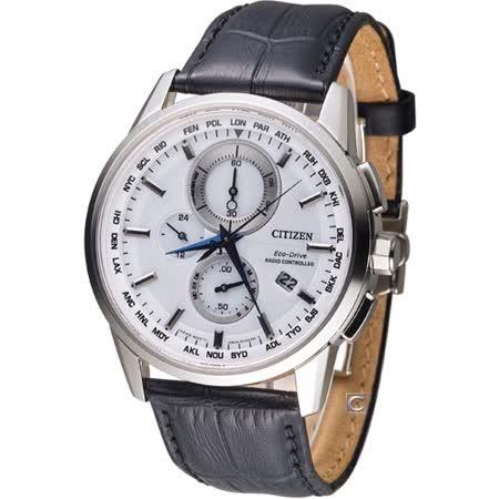 星辰 CITIZEN Eco-Drive 終極寰宇光動能電波腕錶 AT8110-11A