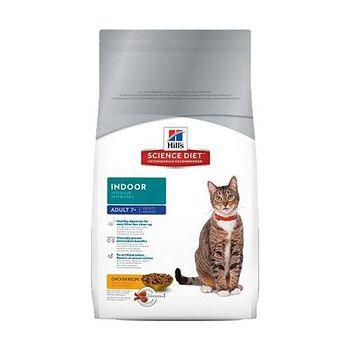 Hill's希爾思 室內熟齡貓專用配方 貓飼料 3.5磅 x 1包