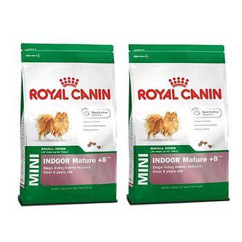 ROYAL CANIN法國皇家 PRIA+8小型室內熟齡犬 老犬飼料 1.5公斤 X 2包