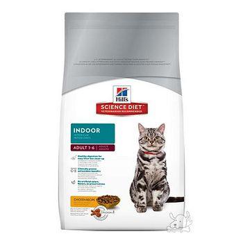 Hill's希爾思 室內成貓專用配方 貓飼料 2公斤 x 1包
