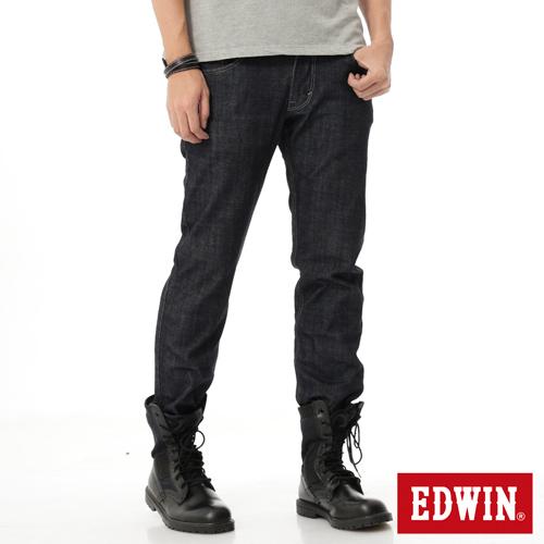 EDWIN EDGE雙口袋直筒牛仔褲-男-原藍色
