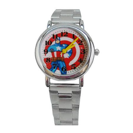 【MARVEL漫威】美國隊長卡通錶兒童錶鋼帶錶