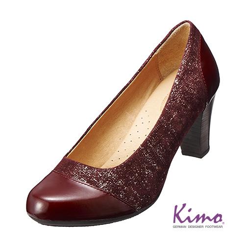 【Kimo德國品牌手工氣墊鞋】城市氣質高跟鞋_氣質紅(K15WF069057)