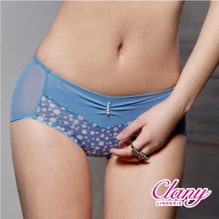 【可蘭霓Clany】迷濛優雅點點M-XL內褲 (閃耀藍 5672-53)