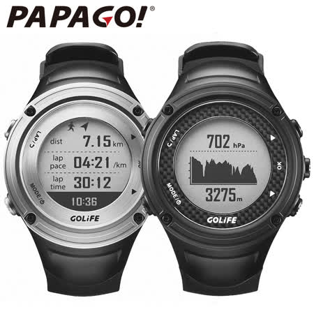 PAPAGO GOLiFE GoWatch X-PRO GPS 頂級旗艦錶款腕錶 【原廠公司貨】送原廠心跳帶