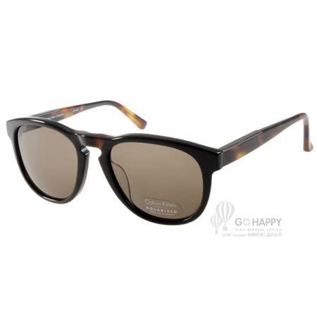 Calvin Klein太陽眼鏡 百搭偏光款(黑-琥珀) #CA7905SP 001