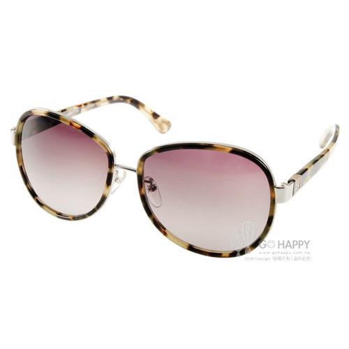 Calvin Klein太陽眼鏡 摩登造型款(琥珀) #CK1208SA 377