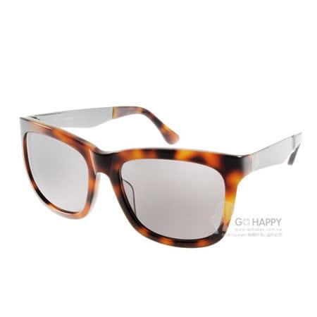 Calvin Klein太陽眼鏡 經典簡約款(琥珀) #CK4247S 004