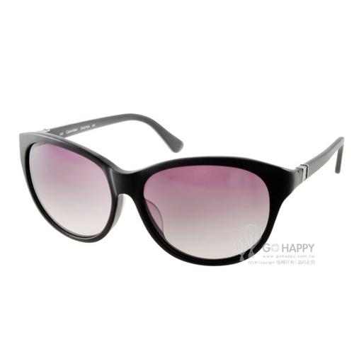 Calvin Klein太陽眼鏡 簡約小貓眼款(霧黑) #CK4270SA 002