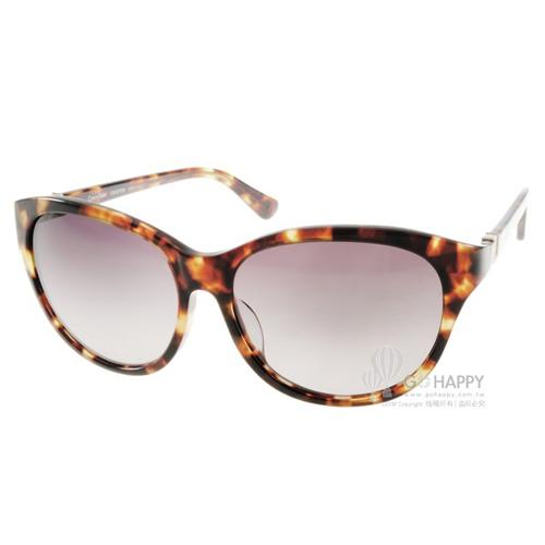 Calvin Klein太陽眼鏡 簡約小貓眼款(琥珀) #CK4270SA 215
