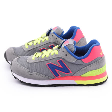 New Balance 女款 麂皮復古運動鞋WL515GRA-灰