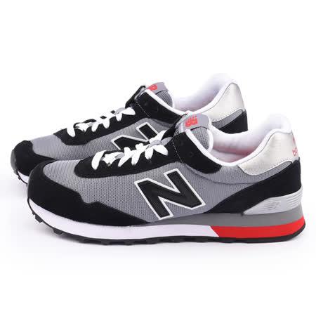 New Balance 男款 麂皮復古運動鞋ML515CCC-黑灰