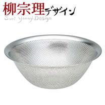 日本製*柳宗理 不鏽鋼 23cm 濾網漏盆