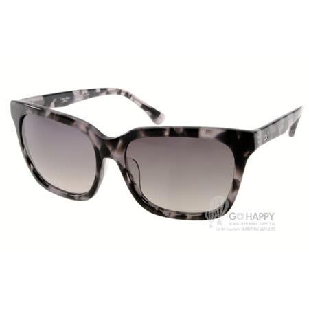 Calvin Klein太陽眼鏡 潮流百搭款(琥珀灰) #CK4283SA 018