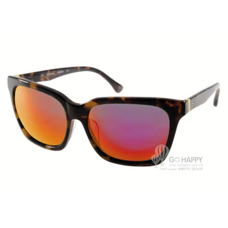 Calvin Klein太陽眼鏡 百搭水銀鏡面款(琥珀) #CK4283SA 215