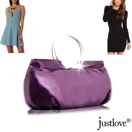 【justlove】D名牌風格可愛俏麗派對跑趴晚宴獨家手提包(共4色)PG-0302