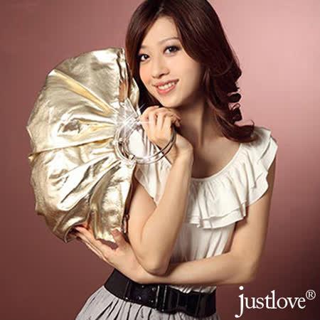 【justlove】名牌風格經典俏麗時尚派對晚宴獨家手提包(共8色)PG-0335