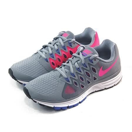 (女)NIKE WMNS NIKE ZOOM VOMERO 9 慢跑鞋 灰/藍/亮桃紅-642196006
