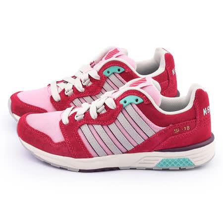 K-SWISS 女款 SI-18 TRAINER 2運動鞋93178-696-紅粉