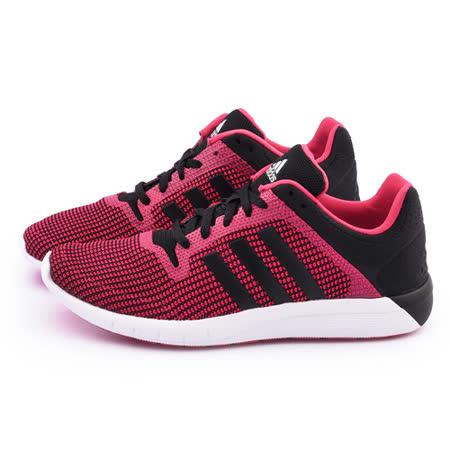Adidas 女款 CC Fresh 2 W輕量慢跑鞋B22975-紅黑