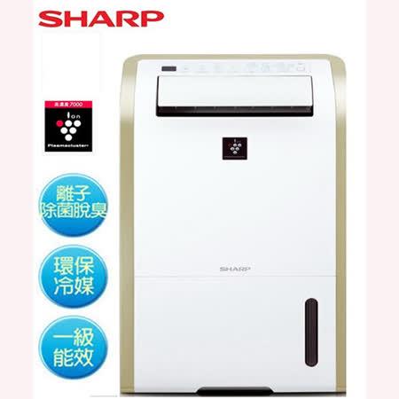 『SHARP』☆ 夏普13L 智慧型自動除菌離子溫濕感應除濕機 DW-E13HT
