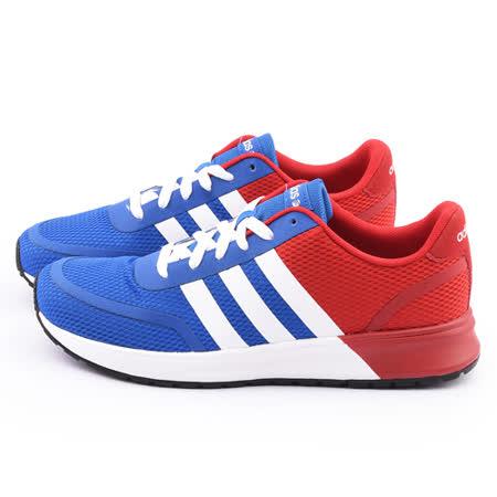 Adidas 男款V RACER TM II TAPE 慢跑運動鞋F98921-藍紅