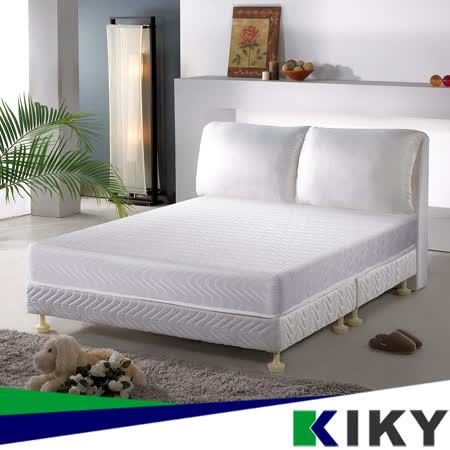 【KIKY】布達佩斯高碳鋼彈簧床墊單人加大3.5尺