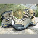 【JHS杰恆社戶外鞋登山鞋】00160卡其牛皮徒步鞋旅遊鞋跑步鞋情侶鞋(FW天翔FLYWALKING)