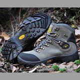 【JHS杰恆社戶外鞋登山鞋】00160深灰牛皮徒步鞋旅遊鞋跑步鞋情侶鞋(FW天翔FLYWALKING)