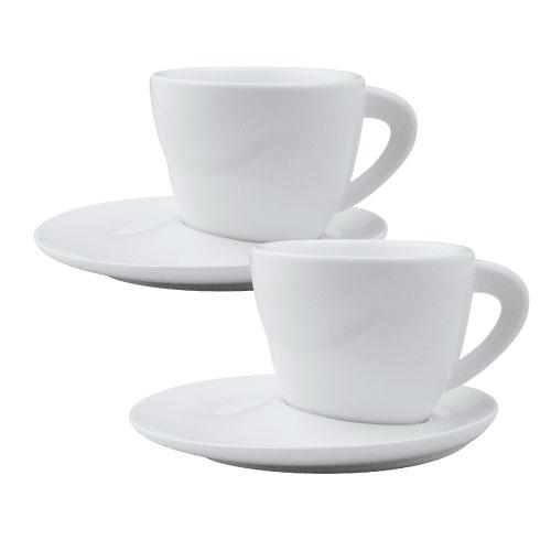 ~歐喜廚~OSICHEF 維納斯系列~卡布奇諾咖啡杯碟組^(2入組^)