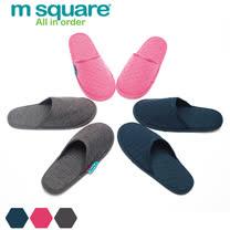M Square旅行舒適棉包頭拖鞋