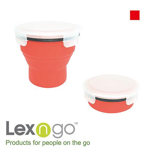 Lexngo可折疊湯杯~紅
