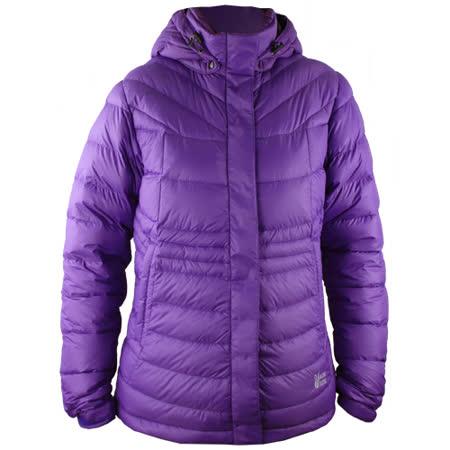 【遊遍天下】大尺碼JIS90%羽絨連帽中長版羽絨外套(深紫2L-5L)--超級好康