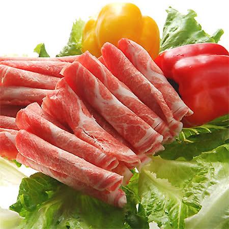 吉品養生無毒豬-梅花火鍋肉片