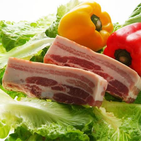 吉品養生無毒豬-帶皮五花肉