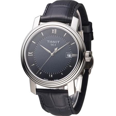 TISSOT Bridgeport 寶環系列經典紳士錶 T0974101605800